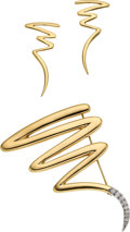Estate Jewelry:Suites, Diamond, Gold Jewelry Suite, Paloma Picasso, Tiffany & Co.. ...