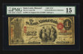 National Bank Notes:Missouri, Saint Louis, MO - $1 Original Fr. 380 The St. Louis NB Ch. # 1112....