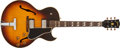 Musical Instruments:Electric Guitars, 1959 Gibson ES-175 Sunburst Hollow Body Archtop Guitar, #A30751....