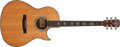 Musical Instruments:Acoustic Guitars, Modern Larrivée Style 10 Natural Acoustic Guitar, #15822. ...