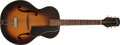 Musical Instruments:Acoustic Guitars, Late 1940s Gretsch New Yorker Sunburst Acoustic Archtop Guitar,#6359. ...
