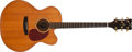Musical Instruments:Acoustic Guitars, Modern Foster Prodigy Custom Natural Acoustic Guitar, #246....
