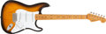 Musical Instruments:Electric Guitars, 1994 Fender 40th Anniversary Sunburst Solid Body Electric Guitar, #0699 of 1954. ...