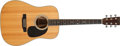 Musical Instruments:Acoustic Guitars, 1990 Martin D-35P Natural Acoustic Guitar, # 496180....