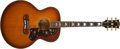 Musical Instruments:Acoustic Guitars, 1986 Gibson J-200 BS Sunburst Acoustic Guitar, #81926504....