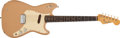 Musical Instruments:Electric Guitars, 1959 Fender Musicmaster Desert Sand Electric Guitar, #40881....