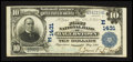 National Bank Notes:Maryland, Hagerstown, MD - $10 1902 Plain Back Fr. 624 The First NB Ch. #(E)1431. ...