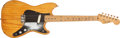 Musical Instruments:Electric Guitars, 1956 Fender Musicmaster Natural Electric Guitar, #08937....