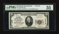 National Bank Notes:Pennsylvania, Pittsburgh, PA - $20 1929 Ty. 1 The Duquesne NB Ch. # 2278. ...