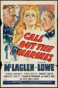 """Movie Posters:Comedy, Call Out the Marines (RKO, 1941). One Sheet (27"""" X 41""""). Comedy.. ..."""