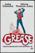 "Movie Posters:Musical, Grease (Paramount, 1978). One Sheet (27"" X 41""). Advance. Musical.. ..."