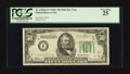 Small Size:Federal Reserve Notes, Fr. 2105-I* $50 1934C Mule Federal Reserve Note. PCGS Very Fine 25.. ...