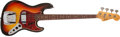 Musical Instruments:Bass Guitars, 1965 Fender Jazz Sunburst Bass Guitar # L99404...