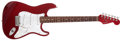 Musical Instruments:Electric Guitars, 1995 Fender Stratocaster Standard Candy Apple Red Electric Guitar # N570997...