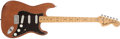Musical Instruments:Electric Guitars, 1975 Fender Stratocaster Mocha Electric Guitar, # 560108....