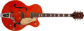 Musical Instruments:Electric Guitars, 1957 Gretsch 6120 Orange Electric Guitar, # 22494....