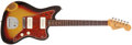 Musical Instruments:Electric Guitars, 1963 Fender Jazzmaster Sunburst Electric Guitar, # L31777....