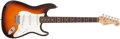 Musical Instruments:Electric Guitars, 1993 Fender Stratocaster American Standard 40th AnniversarySunburst Electric Guitar, # N3157657....
