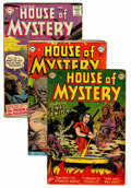 Silver Age (1956-1969):Horror, House of Mystery Group (DC, 1952-67) Condition: Average GD+....(Total: 26 Comic Books)