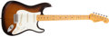 Musical Instruments:Electric Guitars, 2006 Fender Eric Johnson Stratocaster Sunburst Electric Guitar, #EJ13569....