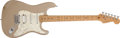 Musical Instruments:Electric Guitars, 1997 Fender Stratocaster Shoreline Gold Electric Guitar #N7203643....