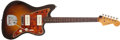 Musical Instruments:Electric Guitars, 1960 Fender Jazzmaster Sunburst Electric Guitar # 45411...