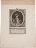 Political:Presidential Relics, George Washington: Early French Engraving....