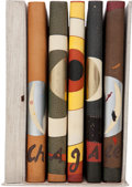 Books:Fine Bindings & Library Sets, [Silvia Rennie, art binder]. Marc Chagall. The Lithographs ofChagall. Introduction by Marc Chagall. Notes and Catal...(Total: 7 Items)