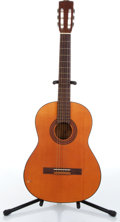 Music Memorabilia:Instruments , 1970s Roderich Paesold Model P90 Classical Acoustic Guitar NoSerial Number....