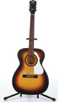 Music Memorabilia:Instruments , 1969 Stella by Harmony Three-Tone Sunburst Acoustic Guitar Serial # 6903H943....