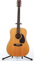Music Memorabilia:Instruments , 1970s Fender F-35 Natural Dreadnought Acoustic Guitar Serial # 771844. ...