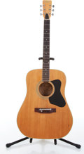 Musical Instruments:Acoustic Guitars, 1970s Guild Madeira A-30M Natural Acoustic Guitar Serial# N/A....