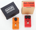 Musical Instruments:Amplifiers, PA, & Effects, MXR Lot of 2 Effect Pedals.... (Total: 2 Items)