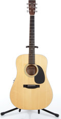 Music Memorabilia:Instruments , 1990s Alvarez 5088 Natural Acoustic Guitar Serial # 36862....