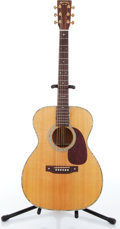 Music Memorabilia:Instruments , 1996 Martin Model SP000-16T Natural Acoustic Guitar Serial #585534. ...