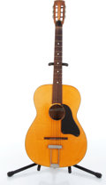Music Memorabilia:Instruments , 1960s Crucianelli Natural Acoustic Guitar No Serial Number....