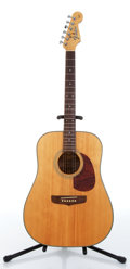 Music Memorabilia:Instruments , 1990s Fender San Marino Natural Acoustic Guitar Serial #90607991...