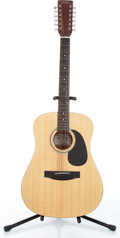 Music Memorabilia:Instruments , 1990s Sigma by Martin Model DM 12-1 12-String Natural AcousticGuitar Serial # 9003000084. ...