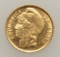 Chile, Chile: Gold Trio 1895-1926,... (Total: 3 coins)