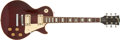 Musical Instruments:Electric Guitars, 1972 Gibson Les Paul Standard Burgundy Electric Guitar,#7245756....