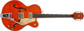 Musical Instruments:Electric Guitars, 1958 Gretsch 6120 Orange Semi-Hollow Electric Guitar, #26538. ...