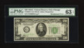 Error Notes:Miscellaneous Errors, Fr. 2055-G $20 1934A Federal Reserve Note. PMG Choice Uncirculated 63 EPQ.. ...