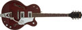Musical Instruments:Electric Guitars, 1964 Gretsch Chet Atkins Tennessean Burgundy Semi-Hollow ElectricGuitar, #76324. ...