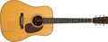 Musical Instruments:Acoustic Guitars, 1945 Martin D-28 Natural Acoustic Guitar, #90198. ...