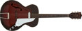 Musical Instruments:Acoustic Guitars, 1960s Orpheum Redburst Electric Acoustic Guitar, #260546....