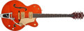Musical Instruments:Electric Guitars, Modern Gretsch 6120SSU Orange Semi-Hollow Electric Guitar,#993120-1243. ...