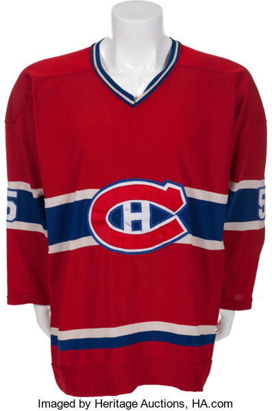 newest collection 8a386 9fe47 1978-79 Guy Lapointe Game Worn Montreal Canadiens Jersey ...