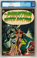 Golden Age (1938-1955):Horror, The Phantom Witch Doctor #1 Spokane pedigree (Avon, 1952) CGC VF-7.5 White pages....