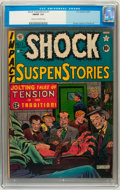 Golden Age (1938-1955):Horror, Shock SuspenStories #1 (EC, 1952) CGC FN/VF 7.0 Cream to off-whitepages....