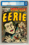 Golden Age (1938-1955):Horror, Eerie #12 (Avon, 1953) CGC VF- 7.5 Cream to off-white pages....